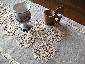 Úžitkový textil - *** Ľanová štôla III. - z truhlice