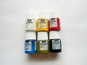 Farby-laky - Farba na textil Pébéo, Setacolor opaque, sada 6x20 ml - 7763274_