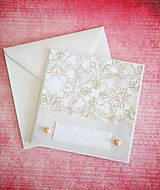 Papiernictvo - Svadobná pohľadnica - 7764208_