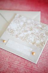 Papiernictvo - Svadobná pohľadnica - 7764209_
