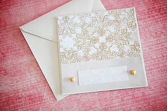 Papiernictvo - Svadobná pohľadnica - 7764210_