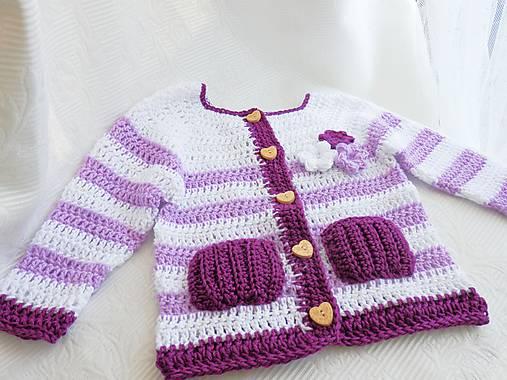 1b87c1079 Háčkovaný svetrík s kvetinkami / Martina2222 - SAShE.sk - Handmade ...