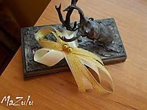 Pierka - svadobné pierko v zlatom VII. - 7763140_