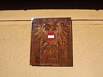 Tabuľky - Erb Rakúska s firemným logom - 7766510_