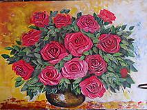 Obrazy - Kytica ruží - 7766175_