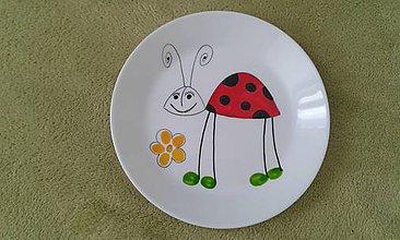 Nádoby - lienočkový tanierik - 7763201_