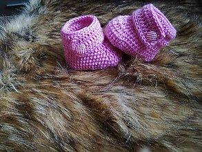 Topánočky - Ružové čizmicky - 7765369_