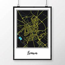 Grafika - TRNAVA, klasická, čierna - 7765042_