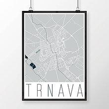 Grafika - TRNAVA, moderná, svetlomodrá - 7765199_