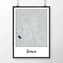 Grafika - TRNAVA, klasická, svetlomodrá - 7765206_