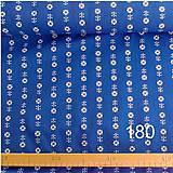Úžitkový textil - Bavlnené romantické posteľné návliečky (Bielo-modré kombinované) - 7763016_