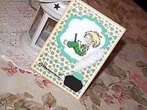 Papiernictvo - PC boy - pohľadnica k promóciám - 7767763_
