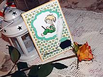 Papiernictvo - PC boy - pohľadnica k promóciám - 7767765_