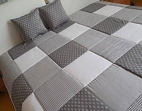 Úžitkový textil - prehoz na posteľ  rozmer  140 x 200cm - 7771653_