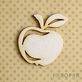 - Výrez Na jeseň - jablko veľké - 7768587_