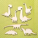 - Výrez Zvieratá - Dinosaurusovia - set, 7ks - 7771156_