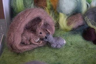 Hračky - Zajačik lesný - 7771716_