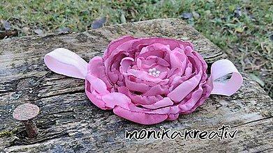 Detské doplnky - Čelenky purple-pink - 7770739_