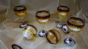 Nádoby - Luxusné poháre na vínko - 7770098_