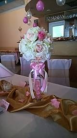 Kytice pre nevestu - Svadobná guľa - 7772513_