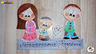 Tabuľky - Menovka - rodinka - 7771334_