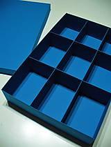 Krabičky - veľká s priehradkami - 7771002_