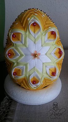 Dekorácie - Veľkonočné vajíčko - 7772161_