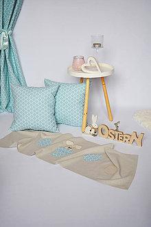 Úžitkový textil - Veľkonočný obrus na stôl - 7770647_