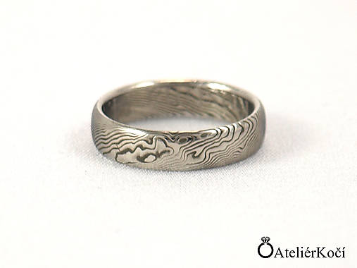 2696f4a36ef4b Prsten Aglaia / kovane.sperky - SAShE.sk - Handmade Prstene