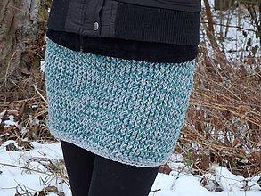 Sukne - Pletená sukně 4 - 7770861_
