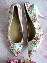 Obuv - Rozkvitla lúka topánočky - 7767841_