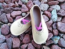 Topánočky - Barefoot kozene balerinky - 7768102_