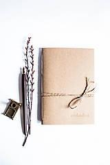 Papiernictvo - minimalism. A5 /Natur - 7770180_