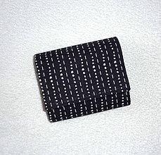 Peňaženky - Peňaženka - Sivá - 12 x 10 cm - 7769811_