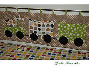 Textil - zástena - vlak - 7773010_