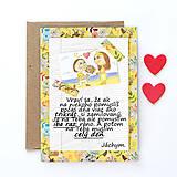 Grafika - Na kávičke (valentínka s textom)  (28) - 7772615_