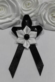 Pierka - Svadobné pierko čierne - 7774393_
