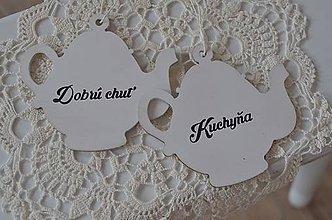 Dekorácie - Čajníky s nápismi - 7776099_