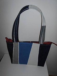 Kabelky - Kabelka jeansovka - 7777653_