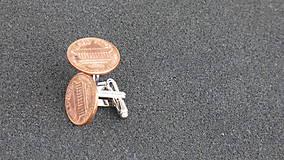 Šperky - ONE CENT - manžetové gombíky - 7773801_