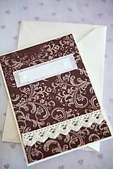 Papiernictvo - Scrapbook pohľadnica - 7776384_