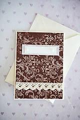 Papiernictvo - Scrapbook pohľadnica - 7776385_