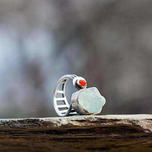 Strieborný prsteň - Sentinel02