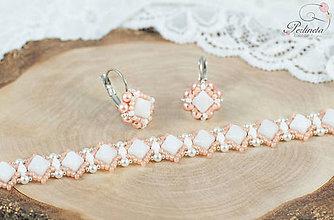 Sady šperkov - Set Silky - Milky Peach - 7775965_