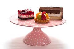 Nádoby - Podnos na tortu - 7775899_