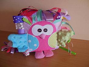 Hračky - Látková kocka na hranie Sophie - 7777211_