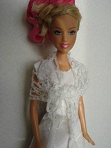 Hračky - Barbie - pavučinkový prehoz - 7777909_