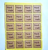 - Samolepky Handmade ------20 ks - 7778227_