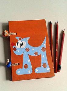 Papiernictvo - psíkový zápisník - 7775164_