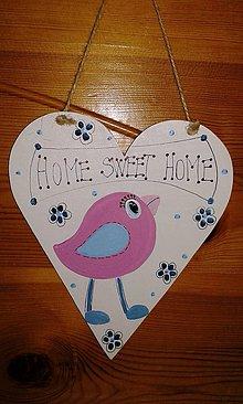 Tabuľky - home sweet home - 7778390_